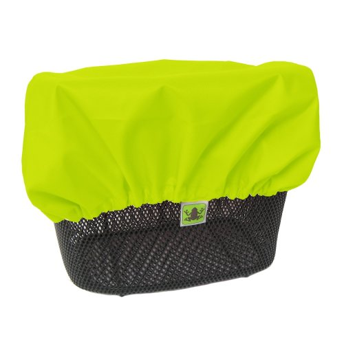 High Visibility Rain Cover for Front and Rear Bike Basket Rain Proof