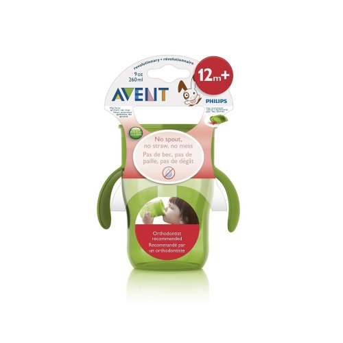 Philips Avent 12m+ 9oz Grown Up Cup Green Scf782/00