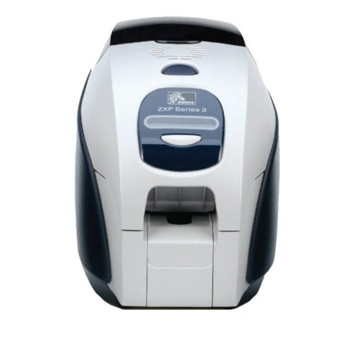 Zebra ZXP3 Dye-sublimation Colour 300 x 300DPI Black,White plastic card printer