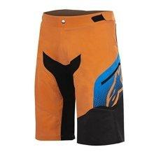Alpinestars Men's Predator Shorts, Bright Orange/bright Blue, Size 34
