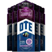 Ote Energy Gel 20 x 56g (blackcurrant) - Cycling Training Exercise Workout -  ote cycling training exercise energy gel 56g workout 20 sachets bike 1