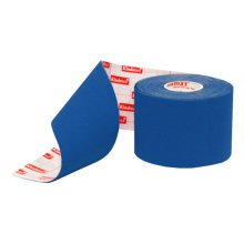 Cotton Cloth Therapy Muscle Kinesiology Athletic Tape Deep Blue (5 x 500cm)