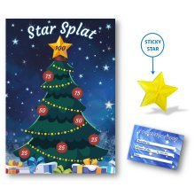 Star Splat Christmas Family Game