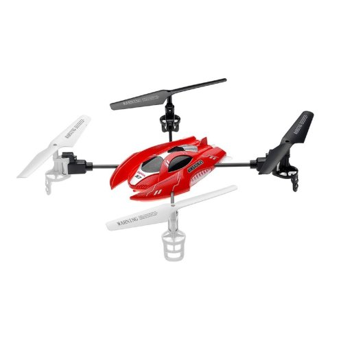 Syma Helicopter X7 4 Channel 2.4G Gyro Radio Remote Ctrl Spaceship Quad Copter - Red