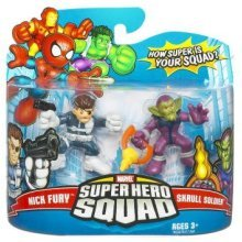 Marvel Super Hero Squad Nick Fury and Skrull Soldier