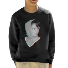 Elizabeth Taylor 1959 3D Effect Kid's Sweatshirt