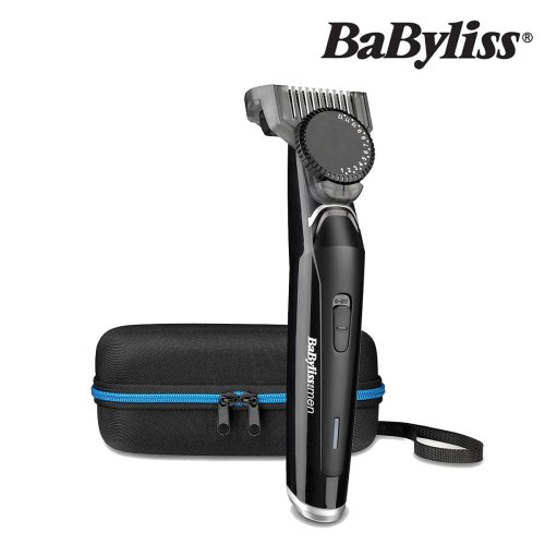 BaByliss For Men 7860U Pro Beard Trimmer With Stainless Steel Blades For Dry Use