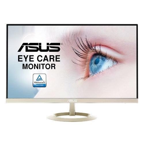 """ASUS VZ27AQ 27"""" Wide Quad HD LED Matt Flat Black, Gold computer..."""