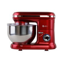 Dihl 1260W Red 6 Speed Food Electric Stand Mixer 5.5L Bowl, Dough Hook