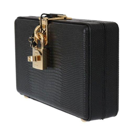 88108ac217 Dolce & Gabbana Black Leather Clutch Bag on OnBuy