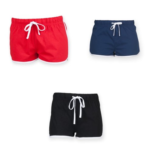 Skinni Minni Childrens/Kids Retro Sports Shorts
