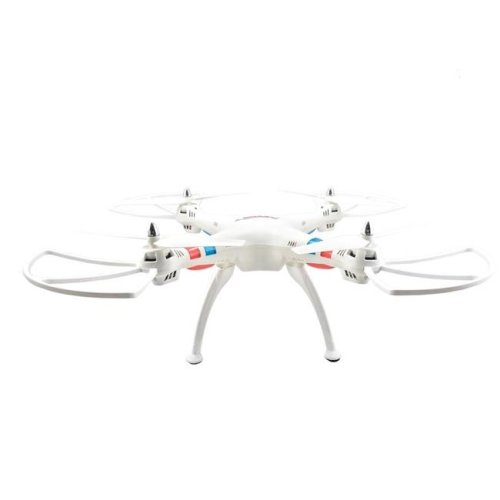 TechComm RQ77-11WHT Raven RC Quadcopter Drone with 6-Axis Gyro & Anti-Interference, White