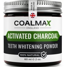 Activated Charcoal Teeth Whitening Powder – 100% Natural, Vegan Teeth Whitener