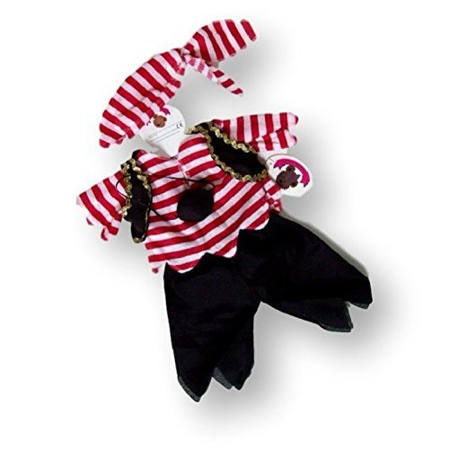 c958a0aae Build Your Bears Wardrobe 15-Inch Teddy Bears Clothes Pirate Costume on  OnBuy