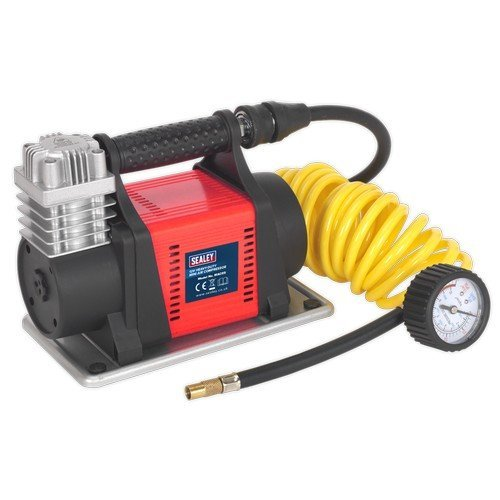 Sealey MAC05 Mini Air Compressor 12V Heavy-Duty