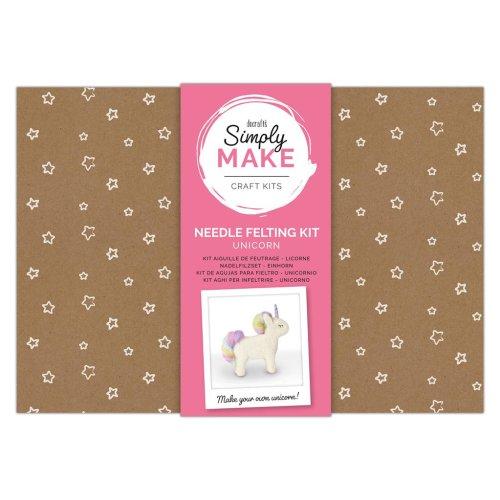 Simply Make Needle Felting Kit - Unicorn