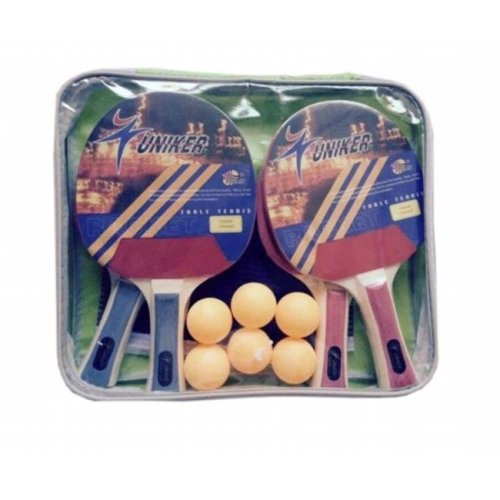 Pool Central 32283737 Recreational Table Tennis Net, Paddles & Balls Game Set