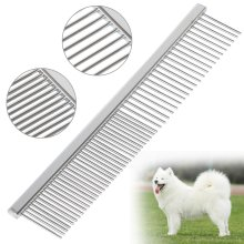 DIGIFLEX Lightweight Stainless Steel Pet Grooming Comb
