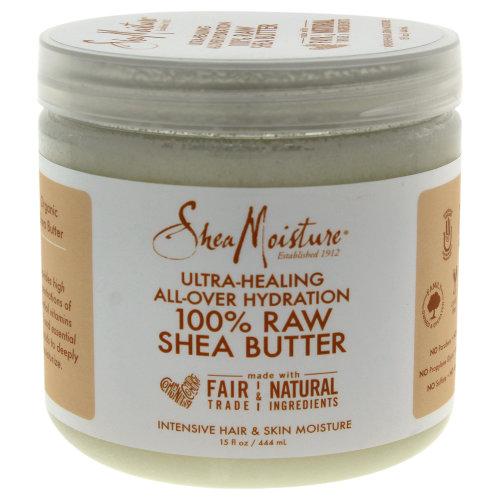 100% Raw Shea Butter Intensive Hair & Skin Moisture by Shea Moisture for Unisex - 15 oz Oil