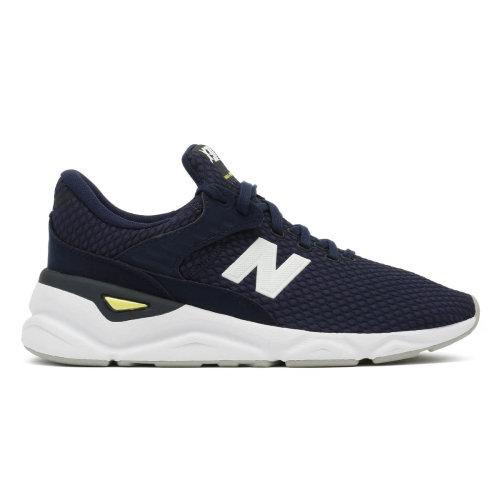 New Balance Mens X90 Navy / White Sport Trainers