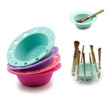 1Pc Silicone Cosmetic Washing Brush Bowl Pad