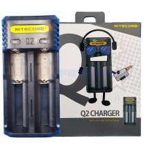 UK Nitecore Q2 2018 CR123A 26650 20700 21700 18650 2a Battery Charger