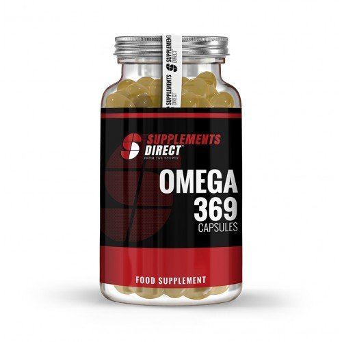 Supplements Direct Triple Omega 3.6.9 Fish, Flaxseed, & Sunflower Oils