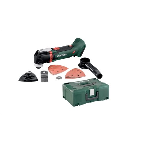 Metabo MT18LTX 18v Multi Tool Body Only In Metaloc Carry CAse