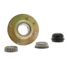 "Taper Roller Hub 4x4"" Pcd Conical Nuts Plastic Cap Bk - Maypole 418 Mini -  hub taper roller maypole 418 mini"