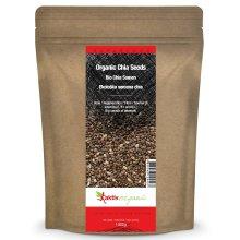 Organic Chia Seeds 1kg, Raw, Black