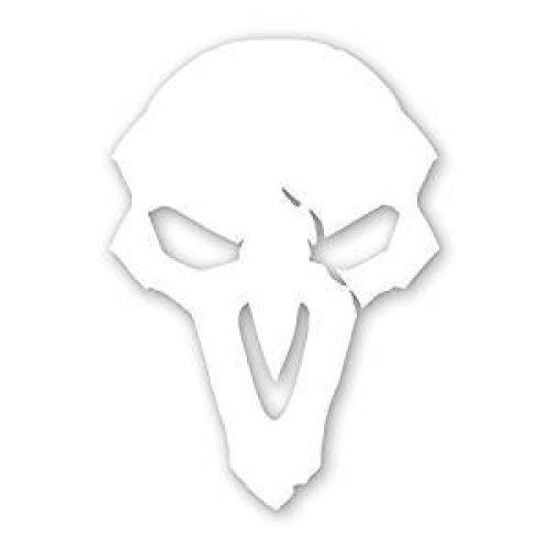 "Sticker - Overwatch - Reaper Logo Window Die Cut Vinyl Decal 4x5"" j7836"