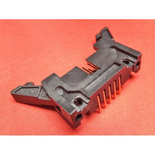 Latch Header 10 WAY Right Angle PCB Mounting TI10LHR PACK of 2