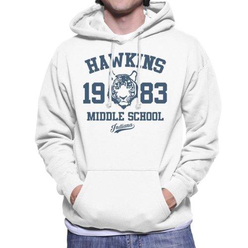 Hawkins Middle School Stranger Things Men's Hooded Sweatshirt