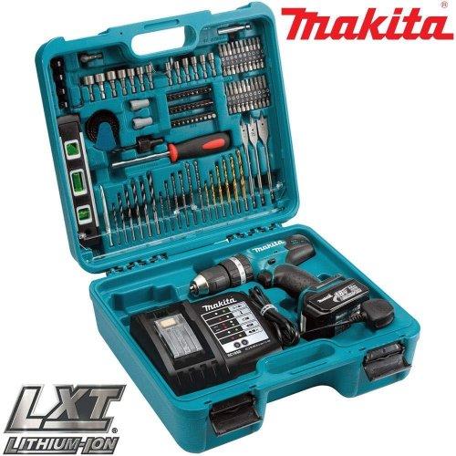 Makita DHP453SFTK 18V LXT Combi Drill with 101 Piece Accessory Set
