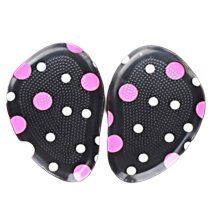 Two Pairs Comfortable Shoe Cushions Non-slip Pads Heel Insole-M