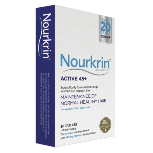 Nourkrin 15% off Active 45+ 30 Tablets