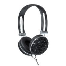 New Jersey Sound Stereo Headphones Crystal Effect