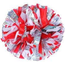 2 PCS Team Sports Cheerleading Poms Match Pom Plastic Ring Colorful-03