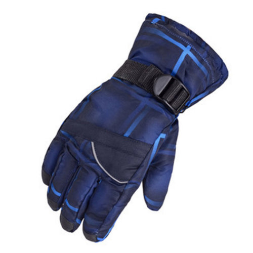 1 Pair Outdoor Winter Cycling Cold-proof Gloves Waterproof Skiing Gloves Warm Gloves,G