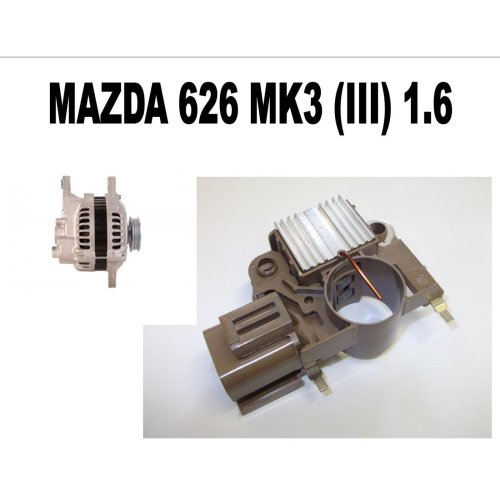 MAZDA 626 MK3 (III) 1.6 1.8 2.0 1987 1988 - 1997 NEW ALTERNATOR REGULATOR