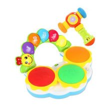 Musical Electric Baby Toys Hand Drum Instrument Percussion Set for Children, Playing@Musical Hammer