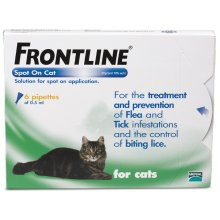 Frontline Spot On Cat 6 Pipettes