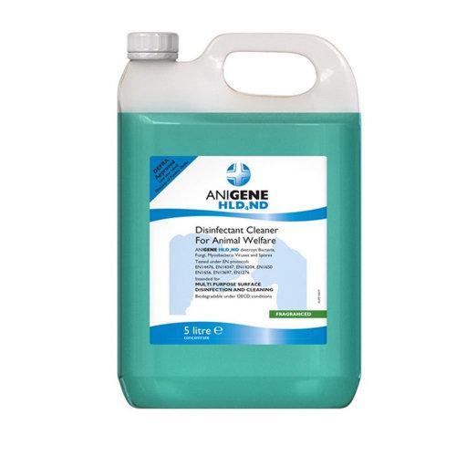 Anigene Hld4Nd Defra Approved Disinfectant 5L Dill DEFRA approved