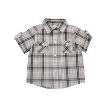 Bright Bots Woven Check Shirt 2/3years