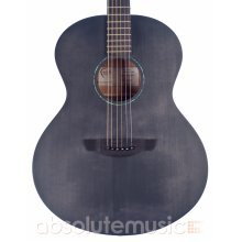 Faith FKNEBK Naked Neptune Electro Acoustic Guitar, Black Spruce