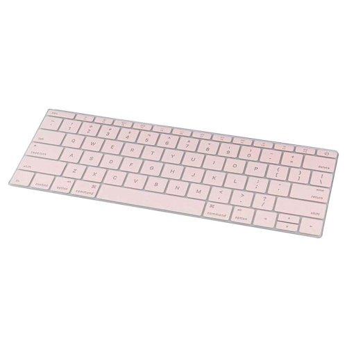 Keyboard Decal Macbook Keyboard Stickers Skin Logos Cover Pink