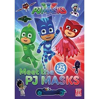 Meet the PJ Masks!: A PJ Masks sticker book