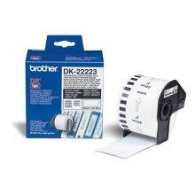 Brother DK-22223 White DK printer label