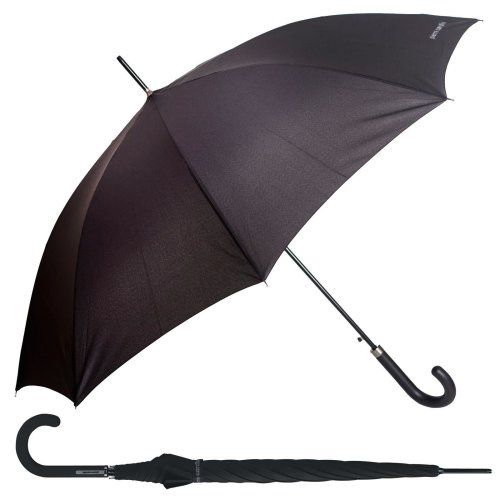 Pierre Cardin Black Designer Walking Umbrella