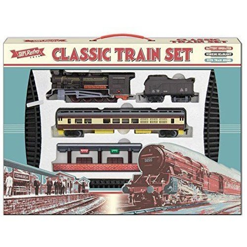 Retro Classic Large Train Toy